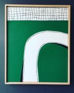 Green Tribute Bertrand Belin 73X61 cm