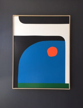 """""""Sunset"""" 116x89cm François Bonnel"""