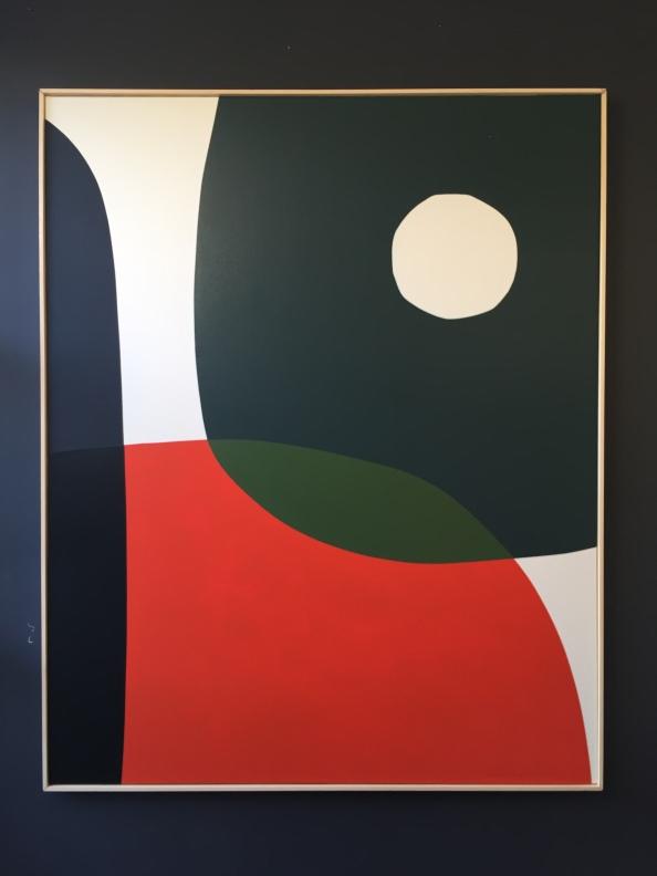 """""""Not time yet"""" 160X130cm -Francois Bonnel-"""