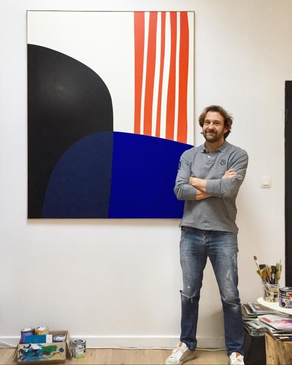 François Bonnel 2020 (Abstract Artist-Painter)