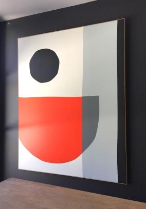 """""""Black Hole Sun"""" 162x130cm François Bonnel 2020"""