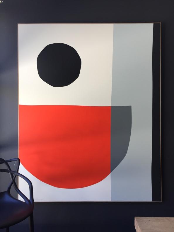 """""""Black Hole Sun"""" AVAILABLE 162x130cm François Bonnel 2020"""