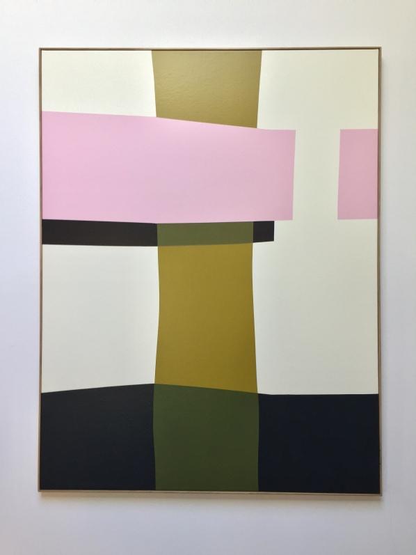 """""""Hands of Time"""" 116x93cm Acrylic on linen Francois Bonnel 2020"""